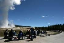 Old Faithful, May 2005