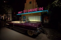 Elvis' purple Cadillac