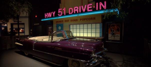 Elvis' purple Cadillac