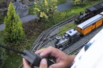 Model Train, Christchurch 2000