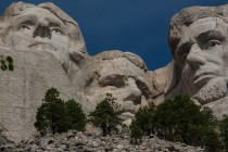 Rushmore from the Presidents Trail